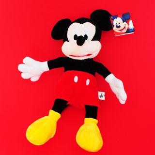 Мики Маус плюшена,музикална играчка