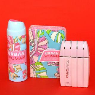 URBAN WOMAN Дамски парфюм и дезодорант